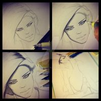 WIP Fashion Illustration by Miss-JM