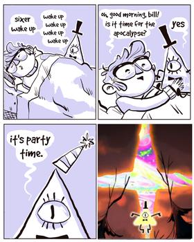 Bill Cipher's Party Time is finally here! by Thinston