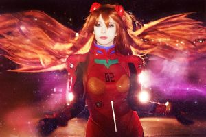 Asuka with Shining Lights by LoliSakura