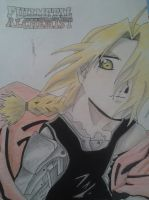 Edward Elric-FMA (coloured) by cristallights
