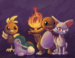 Fire Starters by StripeySharpie