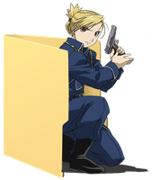 Riza Hawkeye [Full Metal Alchemist] by Hinatka3991