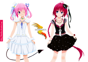 To love ru- nana and mea render by sharknex