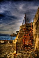 Stairway to xroads HDR by Impl69sioN