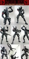 Custom 6 Inch Snake Eyes by KyleRobinsonCustoms