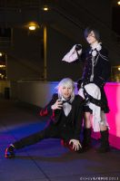 Ciel And Pluto Cosplay - Okke Boy! by DakunCosplay