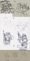 Major sketch DUMP by SteinWill