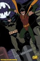 Batman and Robin by extremecannon1