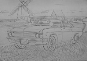 Chevy Impala 66 by orhano