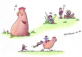 MiniMuse - 2 - The Chicken by NinjaTofuPrincess