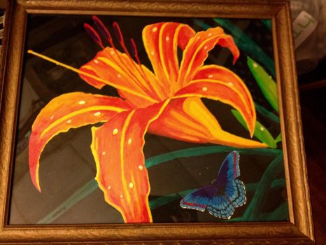 Tiger Lily Butterfly by HEMIII