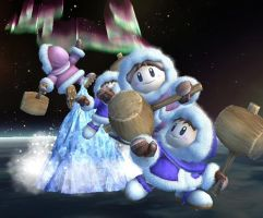 Final Smash Ice Climbers by Zabutsu