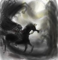Headless horseman by luiganddaisy