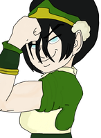 Toph by AkuaDaWolf