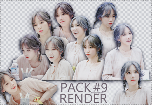 Pack Render #9 - Taeyeon by MalnV
