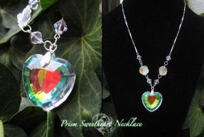 Prism Sweetheart Necklace by Lillyxandra