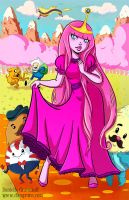 Princess Bubblegum by dsoloud