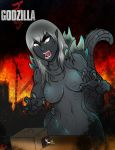 Female Godzilla by ultimateEman