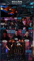 Mass Effect: Affliction, Page 1 by elmjuniper