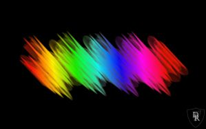 Abstract Rainbow Wallpaper by tennsoccerdr