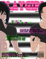 Playgirl Cover : Sasuke and Itachi by WhyCantIFindIt