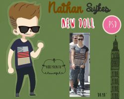 Nathan Sykes Doll by AbbeyDenith