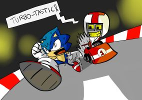 SONIC! RUN FOR YOUR LIFE!!! by FakeSword