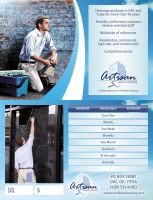 Artisan Window Cleaning Service Agreements by ipholio