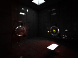 Portal Test Chamber 17 - 1 HD by Supuhstar