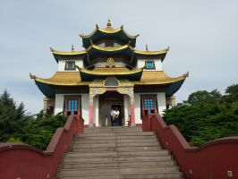 Searching inspiration:  Buddhist temple by Ikro2009