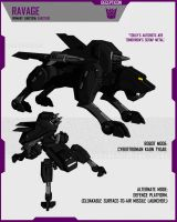 CYBERTRONIAN RAVAGE by F-for-feasant-design