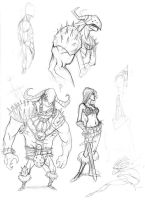 sketches 41 by mcnostril
