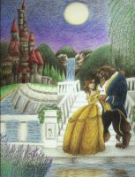 beauty and the beast by xklulessx0818x
