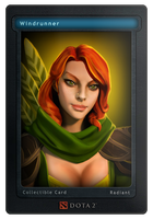 Collectors Card #6 - Windrunner by d-k0d3