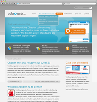 CoBrowser Website by BeZaX