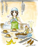 AoH: Operation Banana Desserts by baka-kiiro