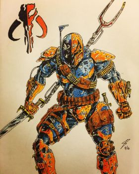 Deathstroke the Mandalorian II by coyote117