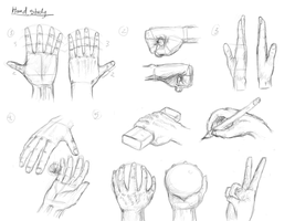 Studying Hands by TheBlasianBruski