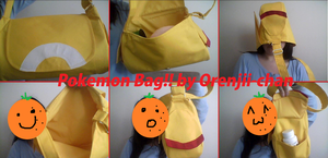 Pokemon Cosplay Bag by Orenjii-chan