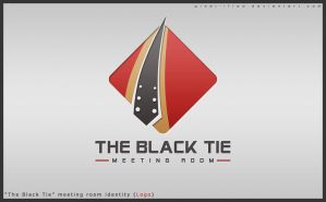 The Black Tie by Pixel-ified