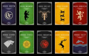 Game of Thrones Houses by DzaDze