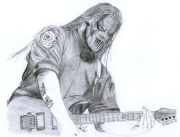 Mick Thompson From Slipknot by Cruit