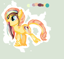 Color the pony (MPL OC) by Puppet-Strings-s