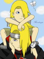 When Deidara was young by Moonlugia