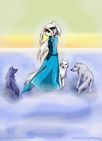 -Walking with the Wolves- by AngelDranger