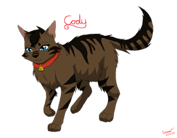 .::Cody the Kittypet::. by SkyBlueArts