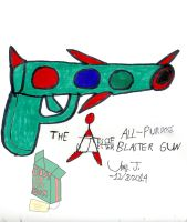 Art Jam Entry-All-Purpose Blaster by Urvy1A