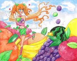 Fruit Fairy by Kachanx23