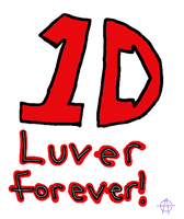 1D LUVER FOREVER by cocobeanc