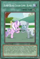 Bump Bump Sugar-Lump (MLP): Yu-Gi-Oh! Card by PopPixieRex